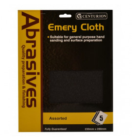 Assorted Emery Cloth (Pack Of 5)