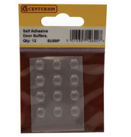 Self Adhesive Door Buffers (12 PK) - 10mm Diameter