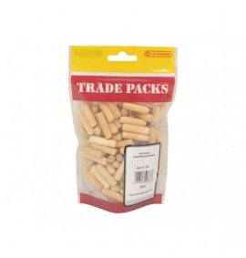 Fluted Wooden Dowels - M8 x 30mm (120 PK)