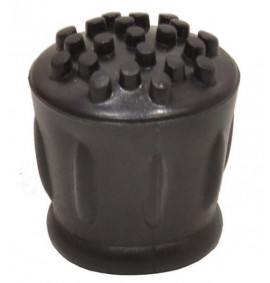 25mm Black Rubber Walking Stick Ferrule