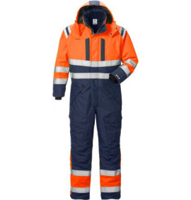 Fristads Railway High vis coverall 8015 GTT