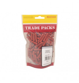 Red Plugs (Drill Size 6mm) (200 PK)
