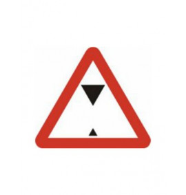 600mm Triangular Max Headroom Sign