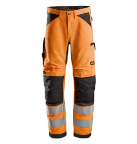 Snickers LiteWork, High-Vis Work Trousers+ Cl2