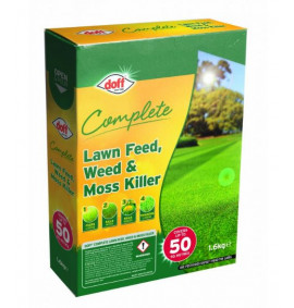 Doff Complete Lawn Feed, Weed & Mosskiller - 1.6k