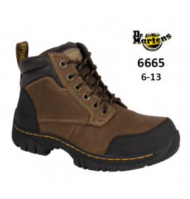 Dr Martens Riverton Brown Safety Boot