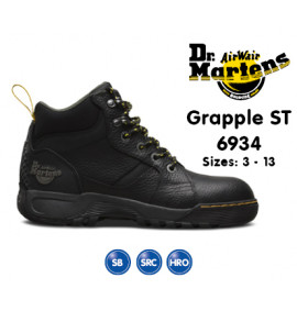 Dr Martens Grapple Black Safety Boot