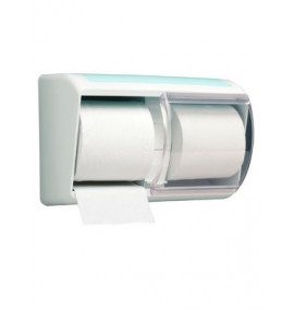 6970 Aqua Toilet Tissue Twin Roll Dispenser