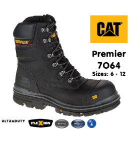CATERPILLAR Premier Safety Boot with side zip