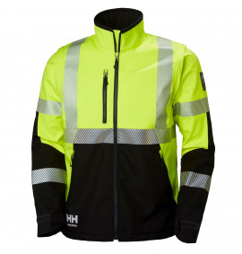 Helly Hansen ICU Hi Vis Softshell Jacket