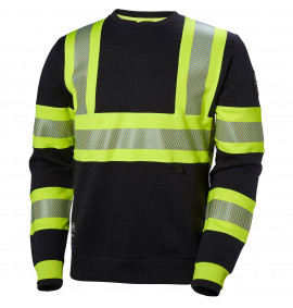 Helly Hansen ICU Hi Vis Crewneck Sweater