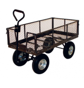 Single Ackerman Trailer With Folding Sides