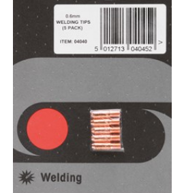 5x 0.6mm SIP15 MIG Welding Tips