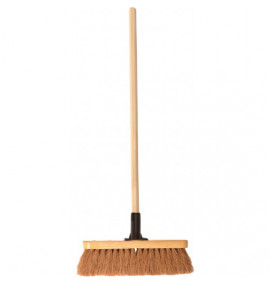 "12"" Coco Brush With Handle"