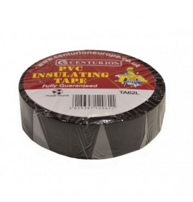 19mm x 20m Black PVC Tape