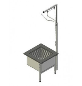 Add-On Loose Fill Table and Spill Bag With Hopper Scaffold - 60-105
