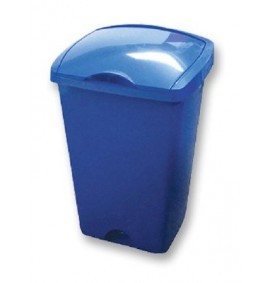Addis Lift Top Bin Blue