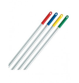 Aluminium Mop Handle with Colour Coded Hand Grip