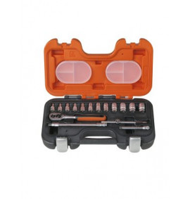 Bahco 16 Piece Socket Set - BAHS160