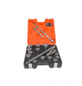 Bahco 17 Piece Socket Set  - BAHSLX17
