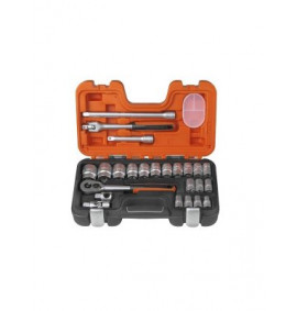 Bahco 24 Piece Socket Set - BAHS240