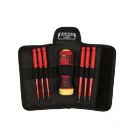 Bahco Ratchet Screwdriver Set 6 Piece PH/FL