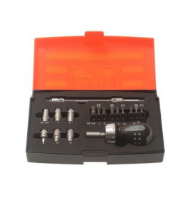 Bahco Stubby Ratchet Screwdriver Set 18 Piece
