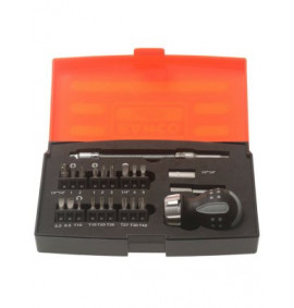 Bahco Stubby Ratchet Screwdriver Set 22 Piece