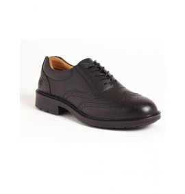 Black Brogue Executive Shoe