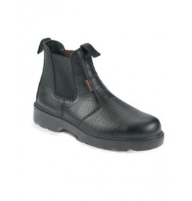 Black Dealer Boot With Mid - Sole