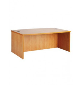 Bow Front Executive Desk - ZWSPME389