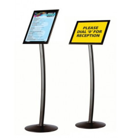 Busygrip Black Poster Stands