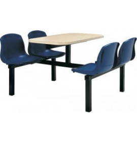 CU20 Polypropylene Canteen Seating