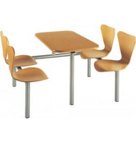 CU21 Wooden Seating