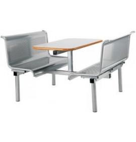 CU27 Metal Perforated Bench Seating