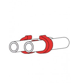 Cable Clips - Double Tube