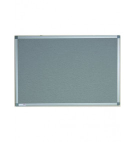 Camira Lucia Fabric Noticeboards - Aluminium Framed - Class 1 Rated
