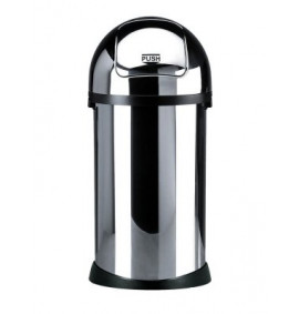 Chrome Steel Bin - 3385