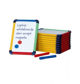 Coloured Frame Laptop Whiteboards