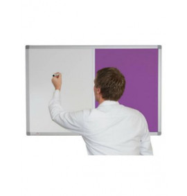 Combination Whiteboards - Charles Twite Magnetic / Fabric