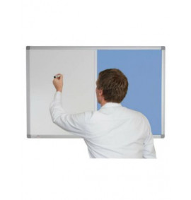 Combination Whiteboards - Charles Twite Non Magnetic / Fabric