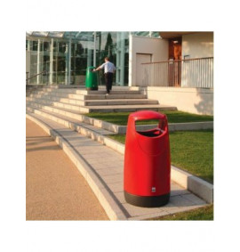 Consort Round Hooded Litter Bin