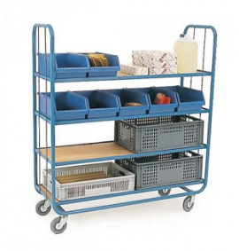4 Shelf Container Trolley