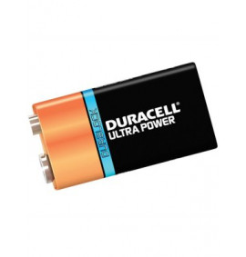 Duracell 9v Cell Ultra Battery Pack of 1