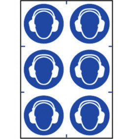 Ear Protection Symbol Signs