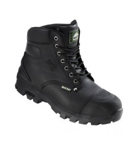 Ebonite Black Hiker Styled Safety Boot