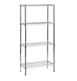 Eclipse Stainless Steel Wire Shelving