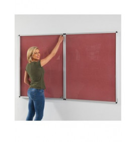 Eco-Friendly Colourboard Tamper-proof Noticeboards