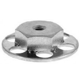 BigHead Mild Steel Female Hex Nut M5