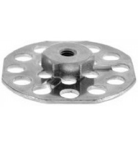 BigHead Mild Steel Female Hex Nut M12